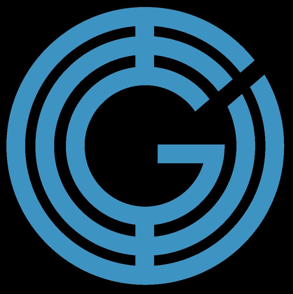 Geeq Typeface Medium Blue