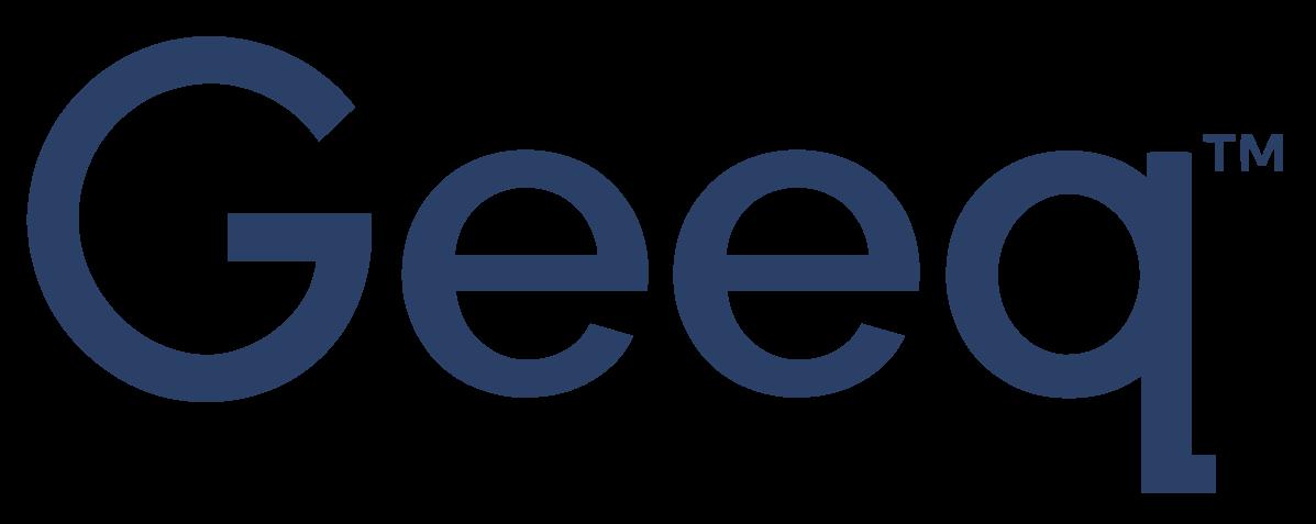 Geeq Typeface Classic Geeq Blue